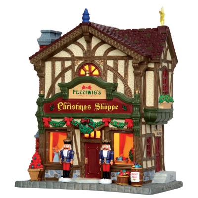 Lemax Fezziwig's Christmas Shoppe - Lighted Building (45742)