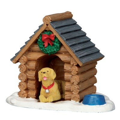 Lemax Log Cabin Dog House - Figurine (54943)