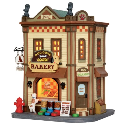 Lemax Dog Gone Good! - Lighted Building (55933)