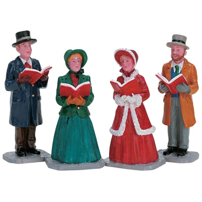 Lemax Christmas Harmony Figurines - Set of 4 (72403)