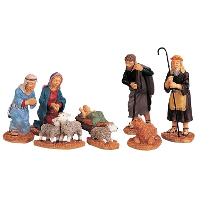 Lemax Nativity Figurines - Set of 8 (92351)