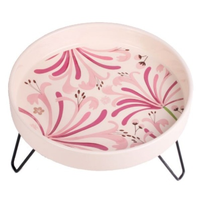 Petface Ceramic Bird Bath - Honeysuckle Design