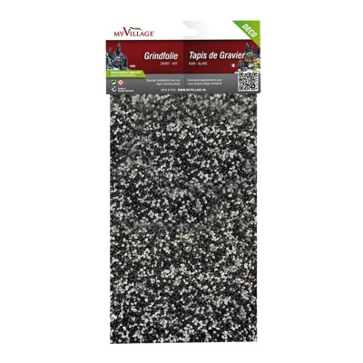 MyVillage™ Black & White Stone Gravel Film - 30 x 14cm (MYD40)