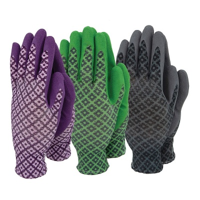Town & Country Ladies Flexi Grip Triple Pack Gloves Medium