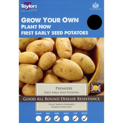 Taylors Premiere Seed Potato Taster Pack