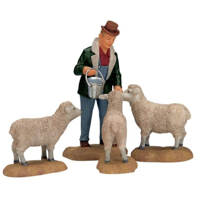 Lemax The Good Shepherd Figurine - Set of 4 (12499)