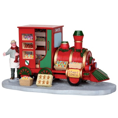 Lemax Christmas Market Candy Seller - Table Accent (33023)