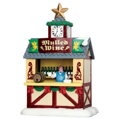 Lemax Mulled Wine Stall - Table Accent (43096)