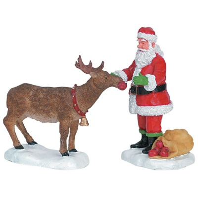 Lemax Reindeer Treats Figurine - Set of 2 (62226)