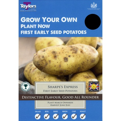Taylors Sharpes Express Seed Potato Taster Pack