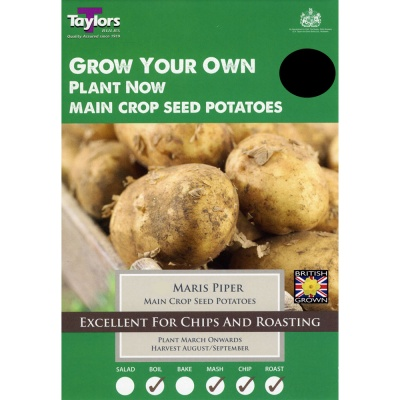 Taylors Bulbs Maris Piper Seed Potato Taster Pack