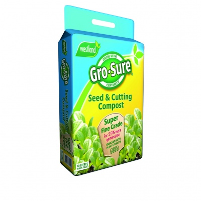 Westland Gro-Sure® Seed & Cutting Compost 10ltr Bag