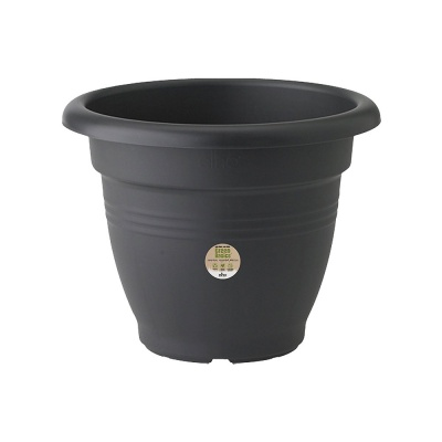 Elho Green Basics Campana Garden Planter 30cm - Living Black