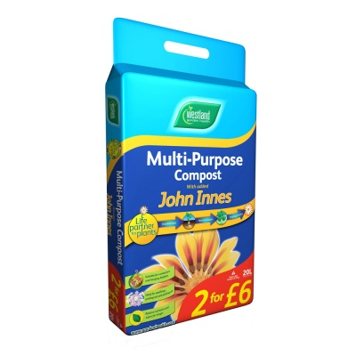 Westland Multi Purpose Compost + Added John Innes 20ltr Bag