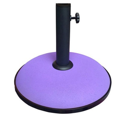 Norfolk Leisure Concrete Parasol Base 15kg - Purple