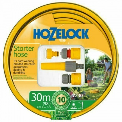 Hozelock 30M Starter Hose Fittings Set
