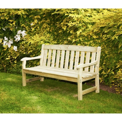 Anchorfast Tiverton 3 Seater Wooden Bench