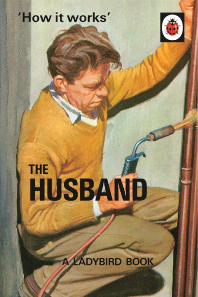 How it Works - The Husband - A Ladybird Book