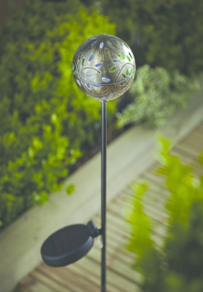 Cole & Bright Solar Filigree Stake Light
