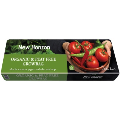 New Horizon Organic Peat-Free Growbag 35ltr Bag