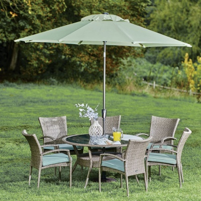 Supremo Chatsworth 6 Seat 135cm Round Suite