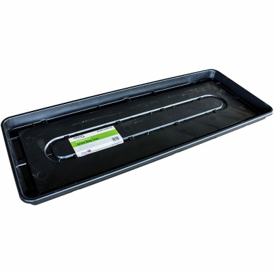 Stewart Essentials Growbag Tray 100cm Black (9321005D)