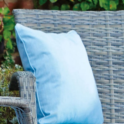 Supremo Scatter Cushion (Single) - Cornflower