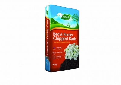 Westland Bed & Border Chipped Bark 70ltr Bag