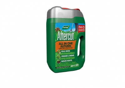 Westland Aftercut® All In One Autumn Lawn Feed & Moss Killer 80sqm 2.8kg