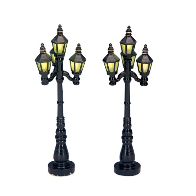 Lemax Old English Street Lamp - Accessory - Set of 2 (34902)