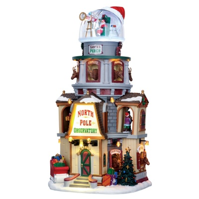 Lemax North Pole Observatory - Sights & Sounds Table Piece (65132)