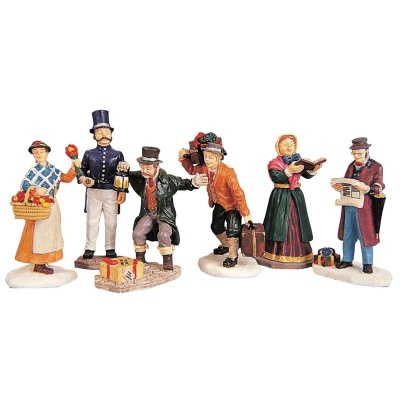 Lemax Townsfolk - Figurines - Set of 6 (92355)