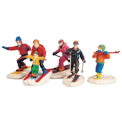 Lemax Winter Fun - Figurines - Set of 5 (92357)