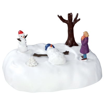 Lemax Snowman Angel Table Accent (54927)