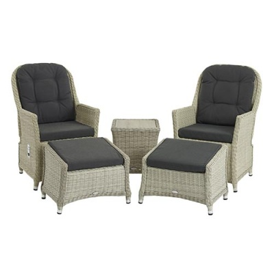 Bramblecrest Monterey Dual Recliners & Footstools Suite Incl. Coffee Table