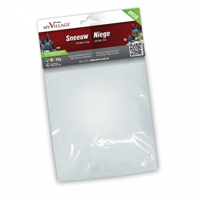 MyVillage™ Decorative Extra Fine Scatter Snow 50g Bag (MYD08)