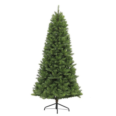Puleo Slim Kensington Fir 6.5ft (1.95m) Artificial Christmas Tree