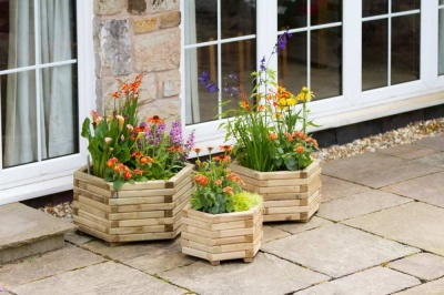 Zest Leisure Marford Planter- Small