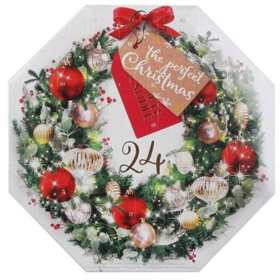 Yankee Candle ® Advent Calendar 2017 - Wreath Designed Box