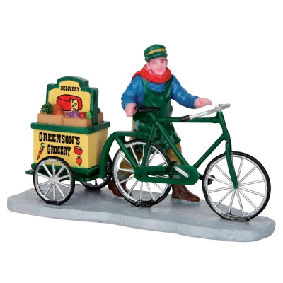Lemax Greenson's Grocery Delivery - Figurine (52359)