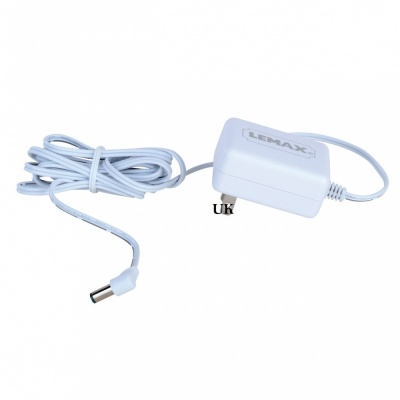 Lemax Power Adaptor 4.5v 550mA UK (White) 1 x Female  Output (74254-UK)