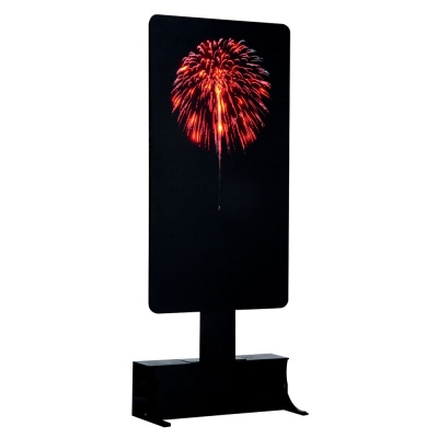 Lemax Red Lighted Firework Display - Accessory (64081)
