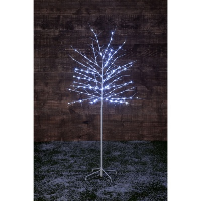 NomaTwinkling Outdoor Twig Tree 1.8m With 150 White LEDs (2517005KL)