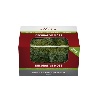 MyVillage™ Decorative Dark Green Reindeer Moss - 50g Box (MYD31)