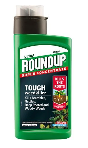 Roundup Tough Weedkiller Concentrate 500ml