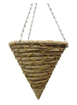 Lows Banana Leaf Maize Cone Basket 14''