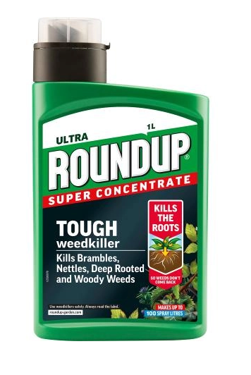 Roundup Tough Weedkiller Concentrate 1ltr
