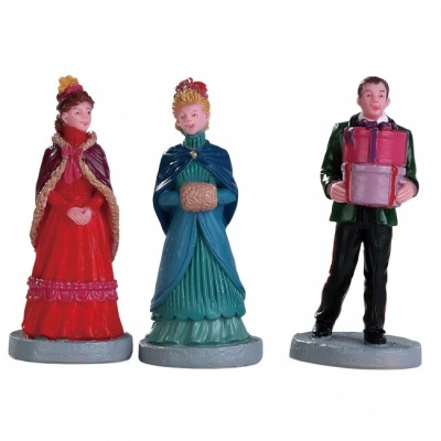 Lemax New Holiday Hats - Figurines - Set of 3 (82597)