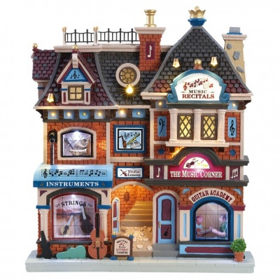Lemax The Music Corner - Lighted Facade (85317)