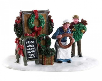 Lemax Handmade Wreaths - Table Accent (83362)